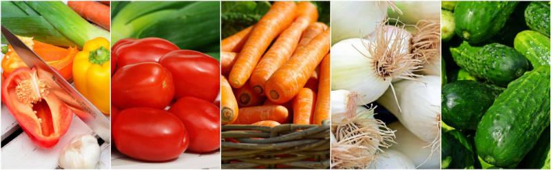 Légumes agriculture biologique